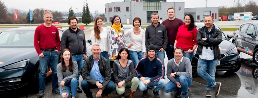 Team der Fahrschule Galileo